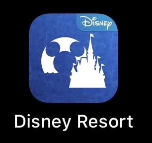 ディズニーのアプリ