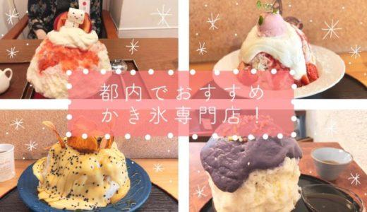 【かき氷は冬の食べ物】東京・千葉でおすすめかき氷専門店4店紹介します。